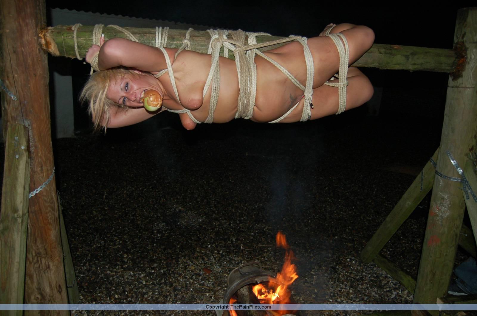 outdoor bondage masturbationstipps
